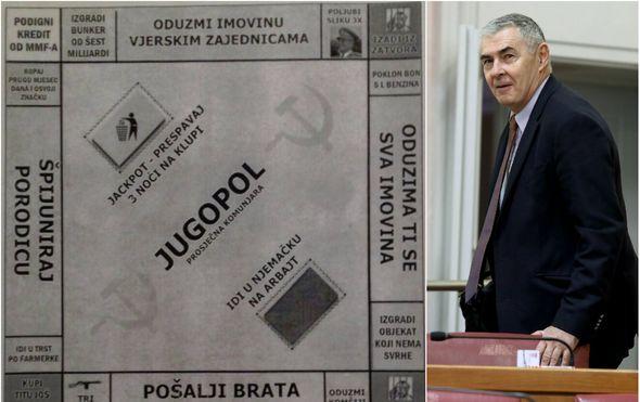 zeljko glasnovic novinarima u saboru podijelio igru jugopol prosjecna komunjara