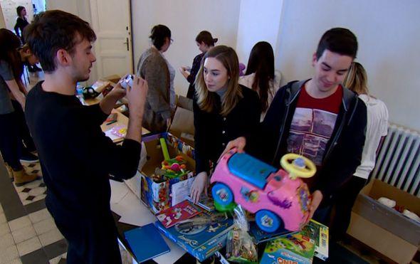 tvornica darova na medicinskom fakultetu u zagrebu studenti uljepsavaju blagdane malim pacijentima