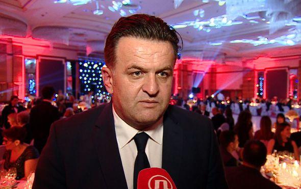 Reporter Andrija Jarak na donatorskom balu Crvenog križa (Foto: Dnevnik.hr)