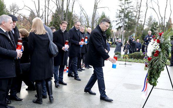 Plenković: Tuđman je bio vizionarski državnik