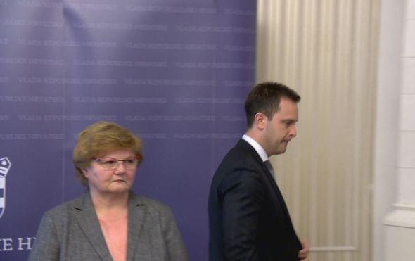 Marin Strmota i Nada Murganić (Foto: Dnevnik.hr)