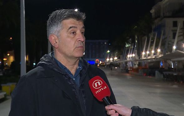 Mario Jurič razgovara s Predsjednikom Splitskog saveza sportova Nenadom Perišem o incidentu u Splitu (Foto: Dnevnik.hr) - 3