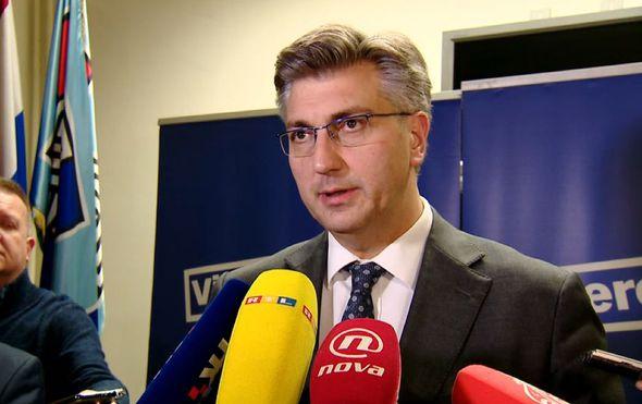 """Plenković o aferi SMS: """"Živimo u ozračju gdje se jako puno toga imputira"""""""