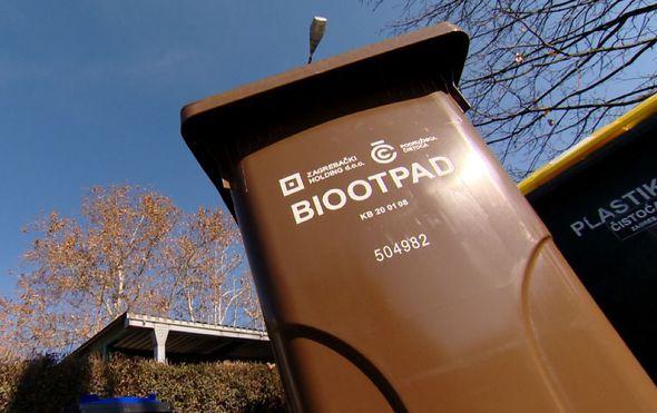 Stigli spremnici za biootpad, nepažljivi bi mogli ostati bez pokoje tisuće kuna