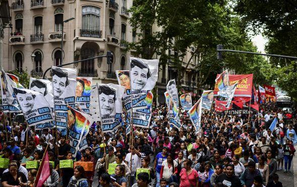 Prosvjedi u Buenos Airesu (Foto: AFP)
