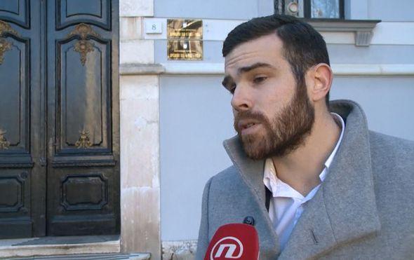 Matija Miloš, odvjetnik učiteljice protiv koje je podignuta optužnica (Foto: Dnevnik.hr)