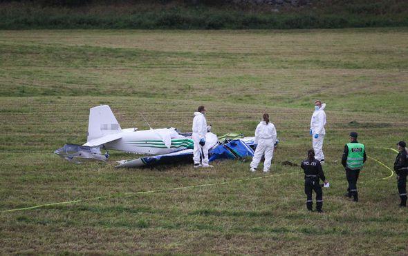 Dvoje mrtvih u padu malog zrakoplova u istočnoj Njemačkoj (Foto: AFP)