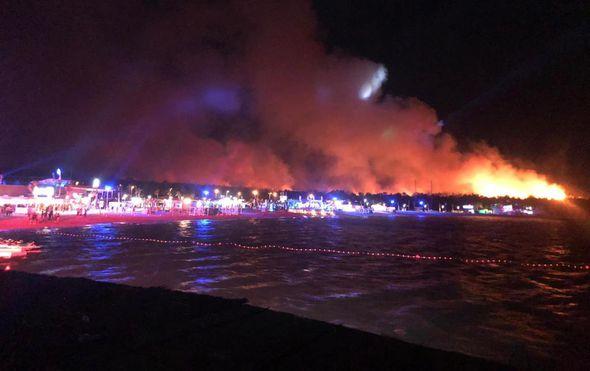 Požar na Zrću (Foto: Dnevnik.hr) - 4