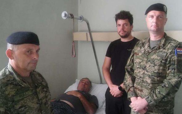 Zapovjednik Tigrova posjetio Evelina Valu (Foto: MORH)