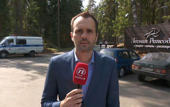 Saša Lugonjić ispred hotela u Iljičevu