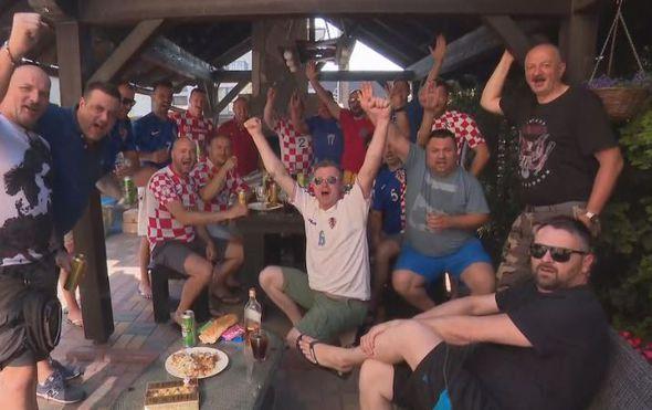 Riječki navijači u Rusiji