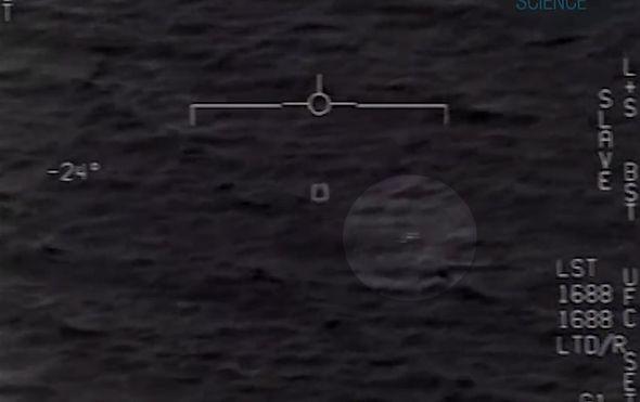 Snimka NLO-a (Screenschot: YouTube)