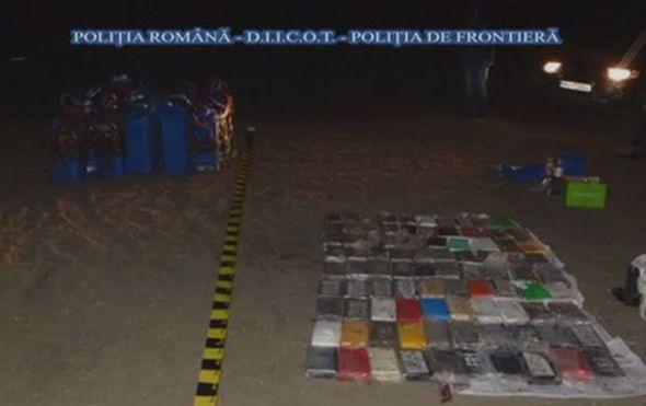 Zaplijenjen kokain u Rumunjskoj (Screenshot: AP)