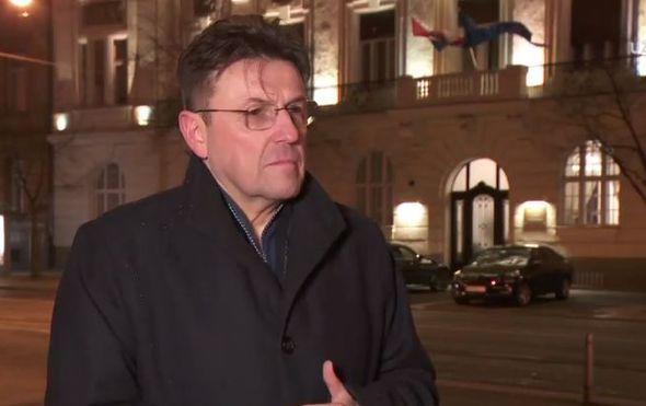 Luka Burilović, šef HGK