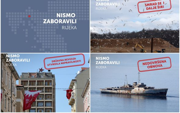 Nismo zaboravili - Rijeka, lokalni izbori 2017.