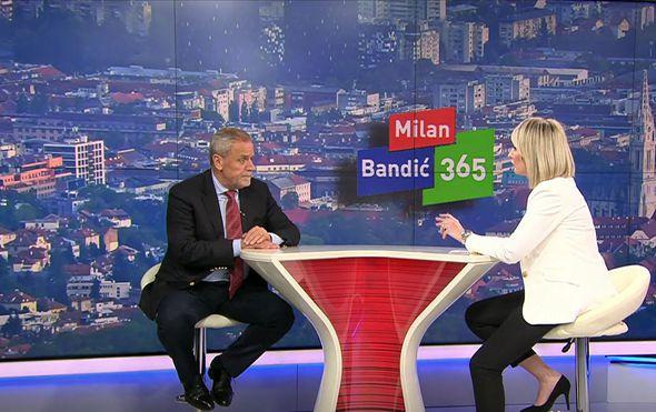 Milan Bandić i Sabina Tandara-Knezović