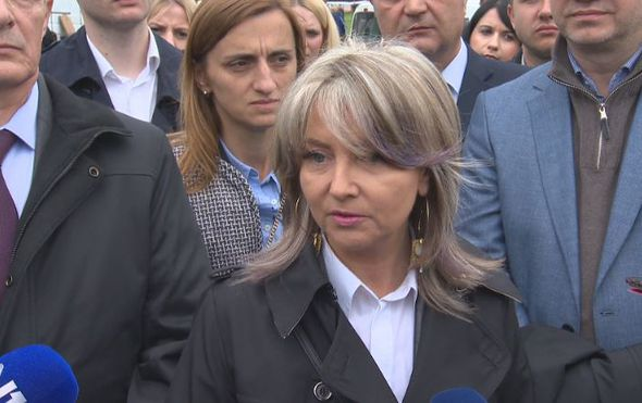 Sunčana Glavak, kandidatkinja s liste HDZ-a na izborima za Europski parlament (Foto: Dnevnik.hr)