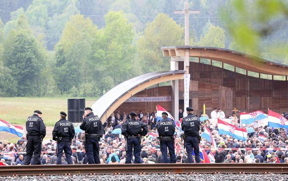 Komemoracija na Bleiburgu (Foto: Zeljko Hladika/24sata/PIXSELL)