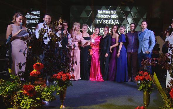 """""""Na granici"""" Nove TV dobila Storyjevu nagradu za najbolju seriju, Nadia Cvitanović je novo lice godine"""