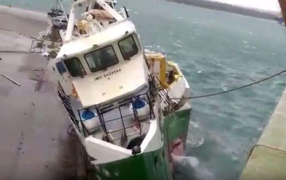 orkanska bura srusila platformu u pulskom brodogradilistu ostecen jedan brod