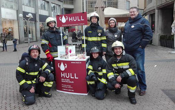 vatrogasci organiziraju akciju humanitarna utrka stepenicama