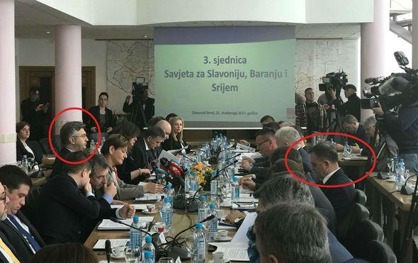 premijer andrej plenkovic i hdz ov zupan alojz tomasevic optuzen za obiteljsko nasilje za istim stolom