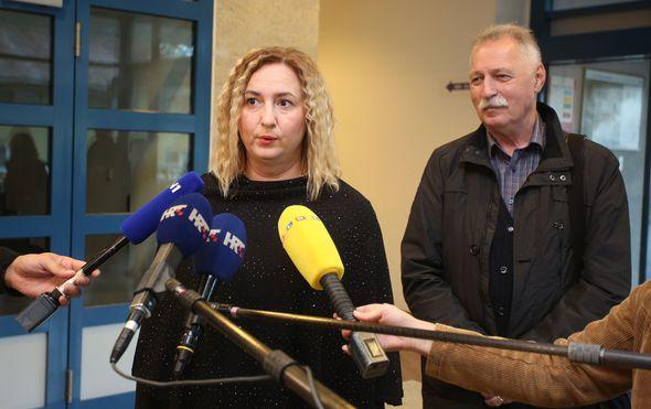 Sanja Šprem i Branimir Mihalinec (Foto: Dnevnik.hr)