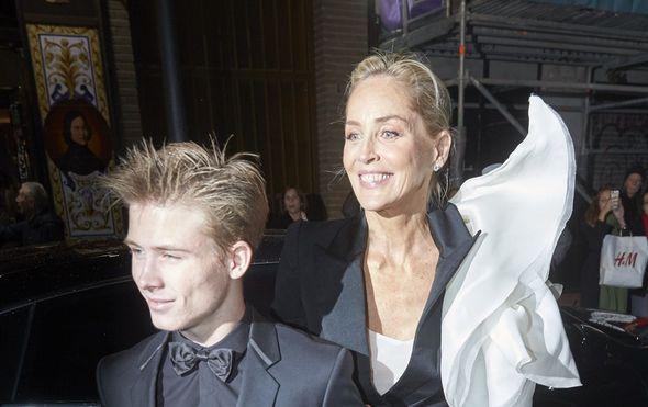Sharon Stone i Roan Joseph Bronstein (Foto: Profimedia)
