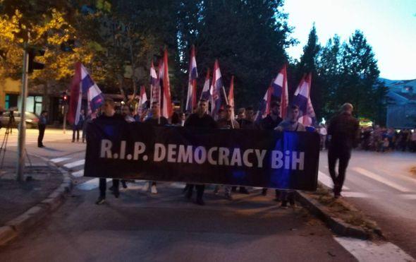 Prosvjed u Mostaru (Foto: Dnevnik.hr)