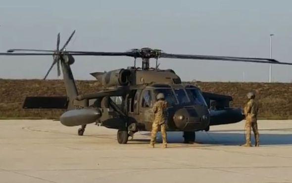 Blackhawk američki helikopteri (Screenshot: Veleposlanstvo SAD-a)