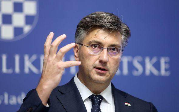 Andrej Plenković (Foto: Marin Tironi/PIXSELL)