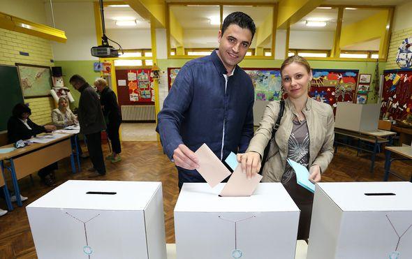 Davor Bernardić s bivšom suprugom Irenom (Foto: Arhiva/Jurica Galoic/Pixsell)