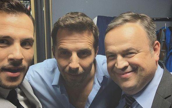 Fabijan Pavao Medvešek, Filip Juričić, Siniša Ružić (Foto: Instagram)