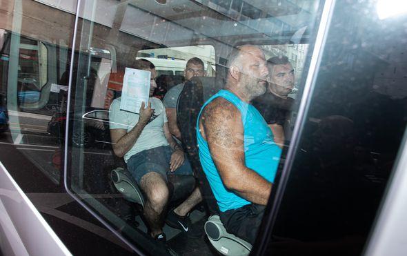 Uhićeni u akciji Tebra (Foto: Pixsell,Davor Puklavec)