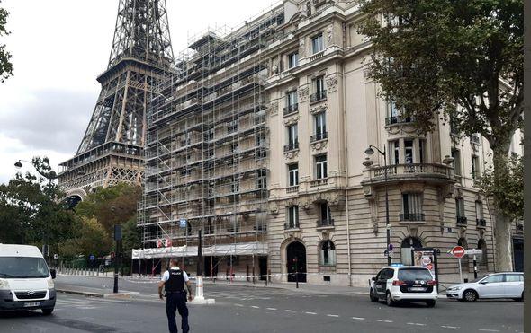 Prijetnja bombom u Parizu