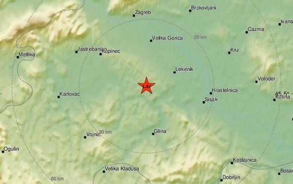 Potres na Banovini