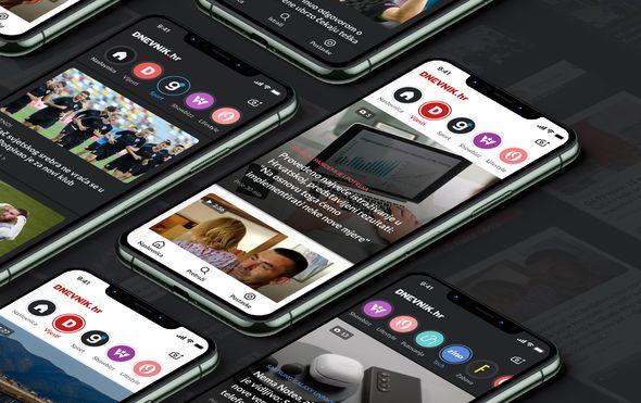 Nova aplikacija DNEVNIK.hr-a: Još brža, preglednija i prilagođenija čitateljima