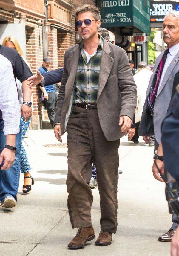 Loše krojena odjeća ne pristaje nikome pa tako ni Brad Pittu