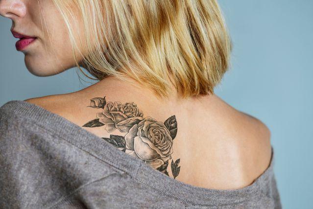 Tetovaža na području lopatice - 6
