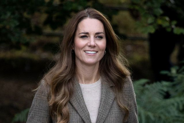 Catherine Middleton u najudobnijim gležnjača - 1