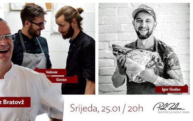Pod Zidom, Igor Gudac, Janez Bratovž