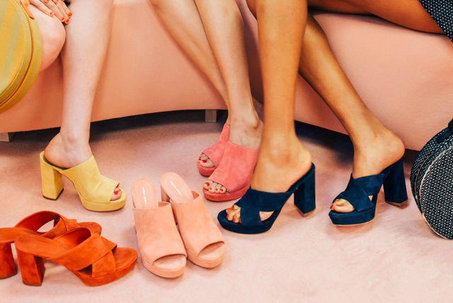 Modeli cipela s blok-petom