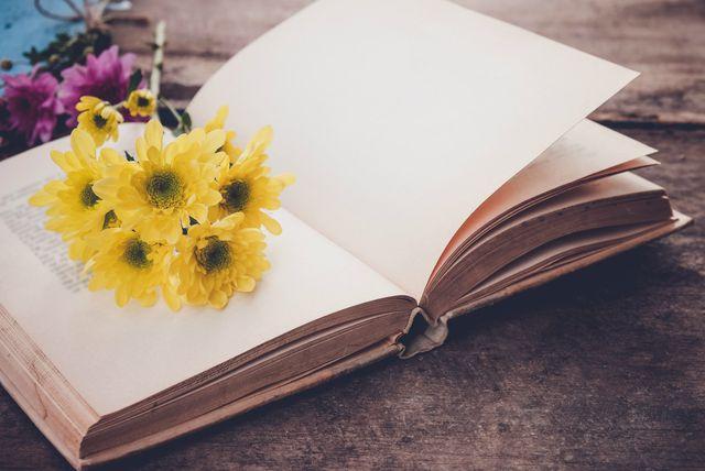 Knjiga sa cvijećem