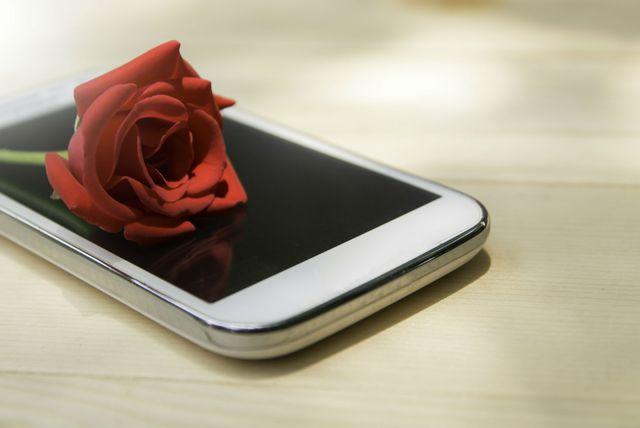Mobitel i ruža