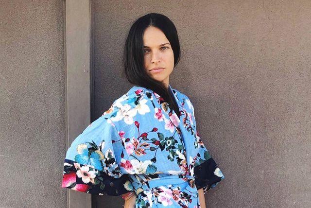 Ljupka Gojić Mikić u kimonu Jolie Petite