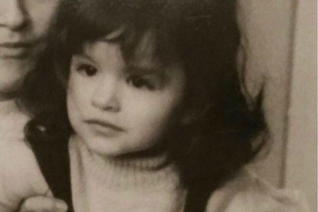 Fotografije slavne pjevačice iz djetinjstva