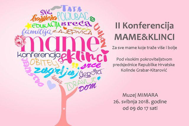Plakat konferencije \'Mame&klinci\'