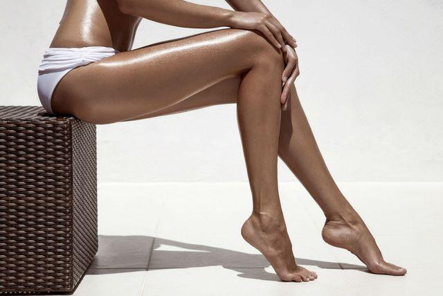Predivno preplanule noge