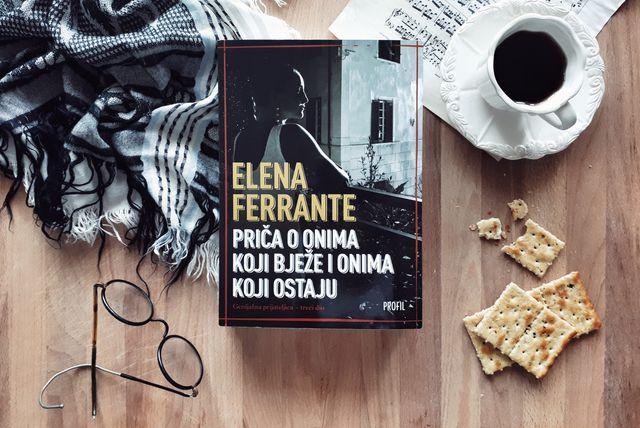 Elena Ferrante 'Priči o onima koji bježe i onima koji ostaju'