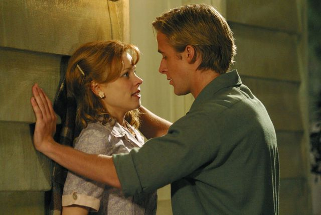 Rachel McAdams i Ryan Gosling u filmu The Notebook - 2